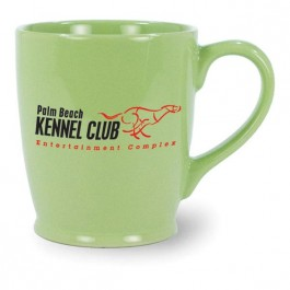 Rye Green 17 oz Cup O'Cheer Ceramic Coffee Mug