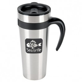Stainless Steel 15 oz. Stainless Steel Mod Mug