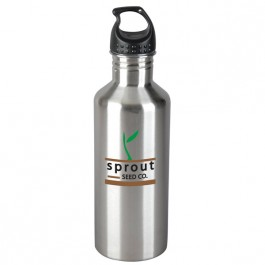Stainless Steel 33 oz. Stainless Steel Kona Water Bottle