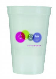 Nite Glow 17 oz Nite-Glow Stadium Cup (Full Color)