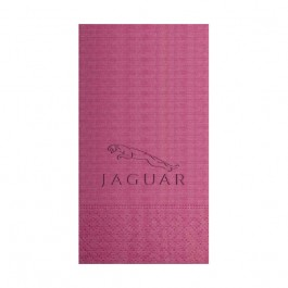 Hot Pink Embossed Moire Guest Towel