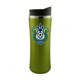 Lime Green / Black 14oz Laguna Stainless Steel Travel Tumbler - FCP