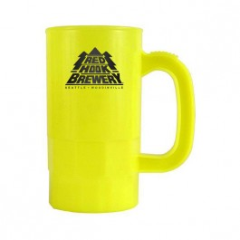 Neon Yellow 14 oz Beer Stein