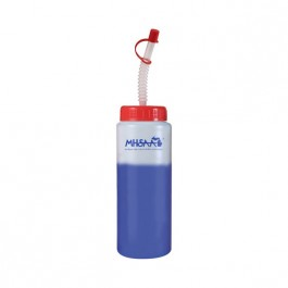 Frost / Blue / Red 32 oz Color Changing Water Bottle