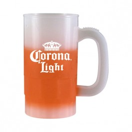 Frost / Orange 14 oz Color Changing Beer Stein