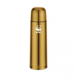 Gold 17 oz Stainless Steel Thermal Bottle