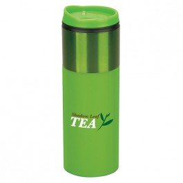 Green 14 oz. Vivid Travel Tumbler