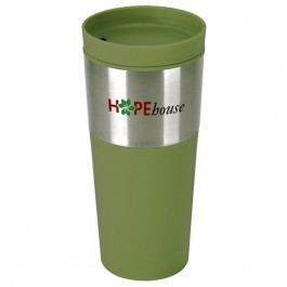 Green 16 oz. Sadie Travel Tumbler