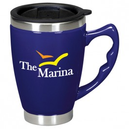 Navy 12 oz. Primo Coffee Mug