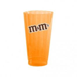 Neon Orange 16 oz Neon Hard Plastic Cup