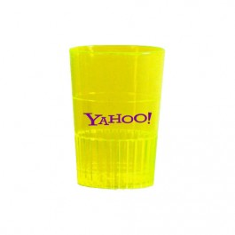 Neon Yellow 1.5 oz Neon Hard Plastic Cups