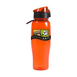 Orange / Black 24oz.Quencher Water Bottle - FCP