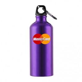 Purple 22 oz Aluminum Sports Bottle