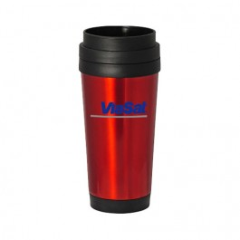 Red / Black 16 oz Classic Stainless Steel Tumbler
