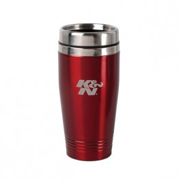 Red / Stainless 15 oz Colored Stainless Steel Tumbler