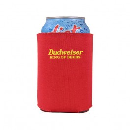 Red Folding Foam Beer Koozie