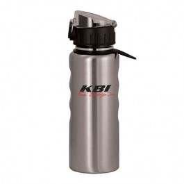 Silver 20 oz Stainless Steel Comfort Grip Bottle