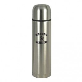 Silver 33 oz Stainless Steel Thermal Bottle
