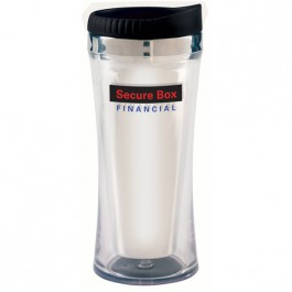 Silver 14 oz. Martin Travel Tumbler
