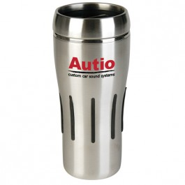 Silver 17 oz. Stainless Steel Punch Tumbler