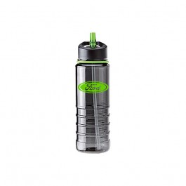 Smoke / Green 25 oz. Tritan Color Band Flip Top Water Bottle
