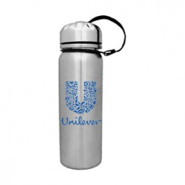 Stainless 25oz Stainless Top Cylinder Bottle