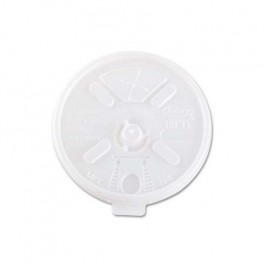 Natural Clear 10-14 oz Foam Cup Lid Transparent