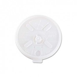 Natural Clear 16 & 20 oz Foam Cup Lid