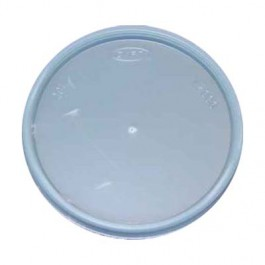 Natural Clear 4 oz Foam Cup Lid