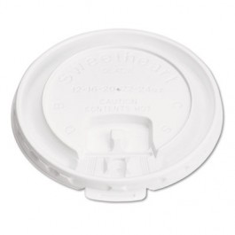 White 10 oz Trophy Cup Lid