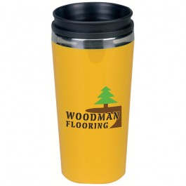 Yellow 14 oz. Vance Travel Tumbler