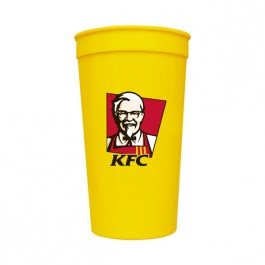 Yellow 32 oz Stadium Cup