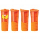 16 oz. Double Wall Rubber Grip Tumbler