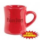 10 oz Red Tahoe Vitrified Ceramic Coffee Mug
