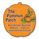 1.875 x 2 Pumpkin Shape Magnet