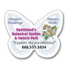2.75 x 2.5 Butterfly Shape Outdoor Magnet
