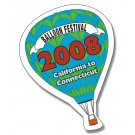2.375 x 3.5 Hot Air Balloon Shape Outdoor Magnet