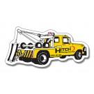 4.75 x 2.25 Tow Truck Shape Magnet