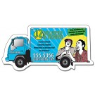4.5 x 2.25 Delivery Truck Shape Magnet