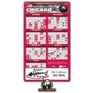 3.5 x 6 Round Corner Hockey Schedule Magnet