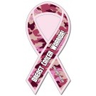 3.8 x 8 Awareness Ribbon Shape Outdoor Magnet