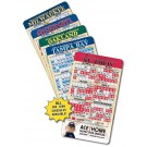 4 x 7 Round Corner Baseball Sport Schedule Magnet - NEXT DAY RUSH
