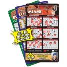 4 x 7 Round Corner Basketball Sport Schedule Magnet