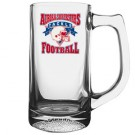 13 oz Football Glass Sport Mug - Full Color