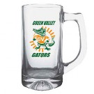 13 oz Basketball Glass Sport Mug