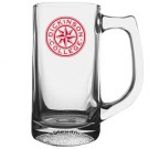 13 oz Football Glass Sport Mug
