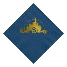 Foil Stamped 3 Ply Colored Beverage Napkin