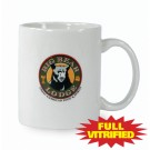 10 1/2 oz White Vitrified Restaurant Ceramic Coffee Mug