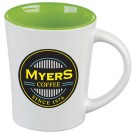 12 oz. Citrus Ceramic Coffee Mug