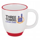11 oz. Two-Tone Bistro Coffee Mug